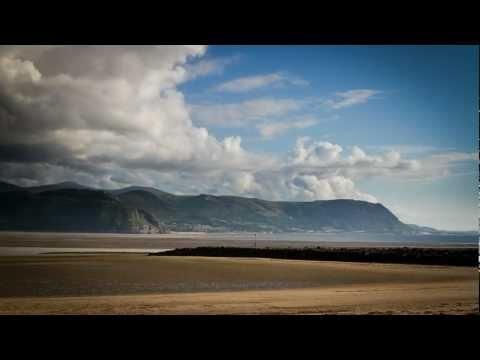 Timelapse video over Llandudno