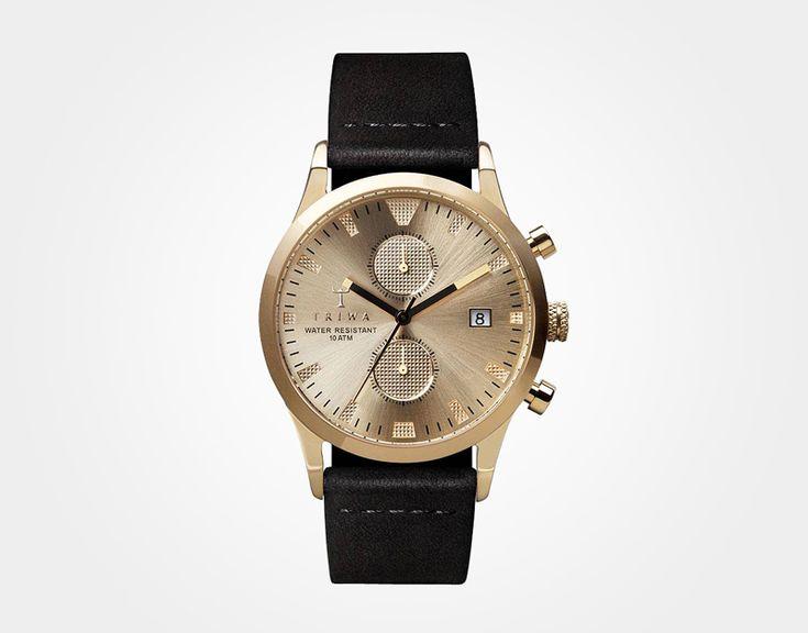 #triwa #sortofblack #watches  http://www.urbag.cz/luxusni-hodinky-triwa-sort-of-black/