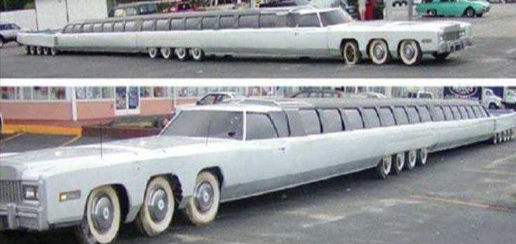 Si queréisdescubrir cuál es el coche más largo del mundo, tenéis que verla Limusina 100ft, creadapor Jay Ohrberg, un coleccionista y diseñador evidentemente convencido que las dimensiones cuentan, al menos cuando se habla de cochesde lujo. Largos 100 pies, como se puede intuir por elnombre, esta Limusina supera los 30 metros y es dotada de26 …