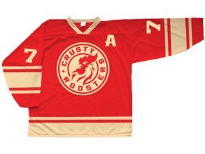 Throwback hockey logo design for a throwback ho... Bold, Playful Logo Design by SK