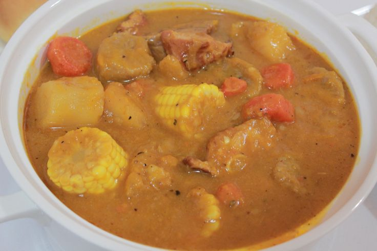 How to make Sancocho and White Rice (the puerto rican way)