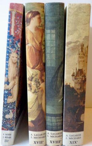 """les """"lagarde et Michard"""" livres de français du lycée."""
