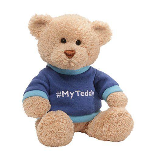 Gund My T-Shirt Stuffed Teddy Bear Blue