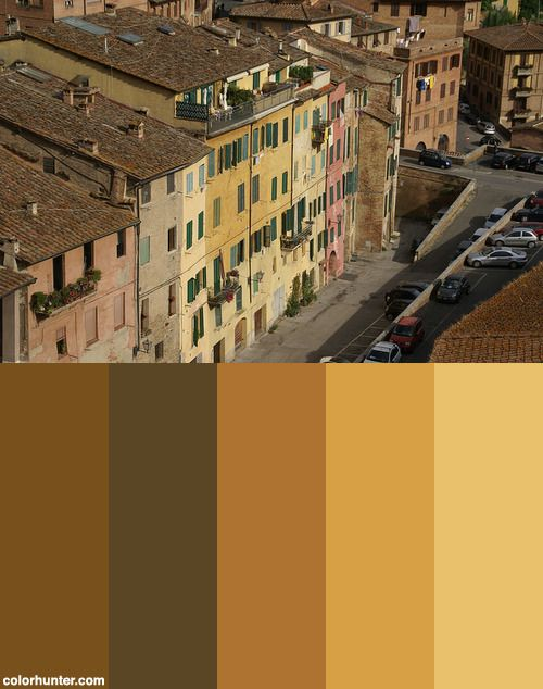 View+Of+Siena+Color+Scheme