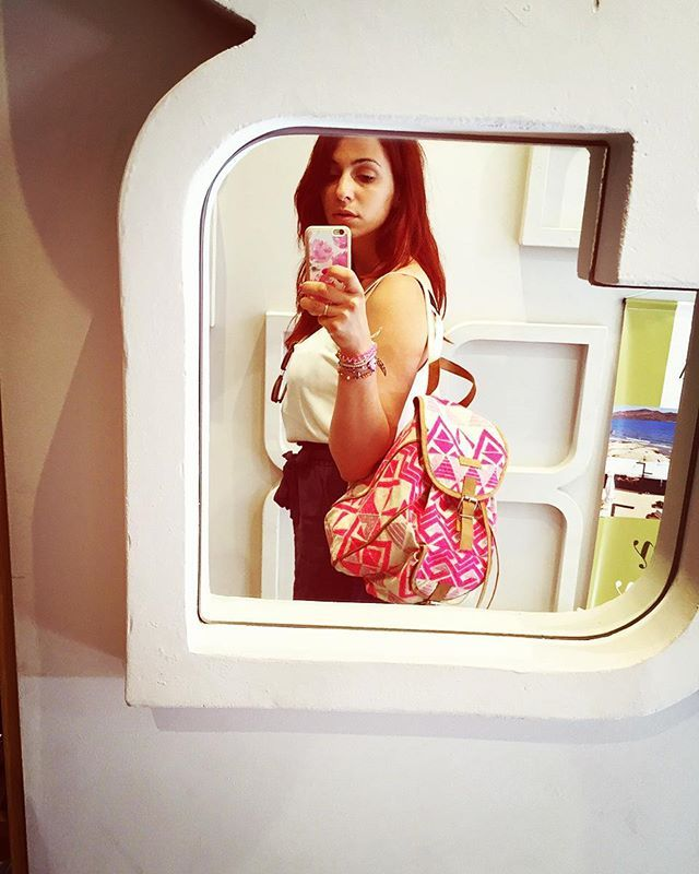 Weekend loading💕 Ready to go🐳🍉🐠🐚 #stemaworld #backpack @fullahsugah