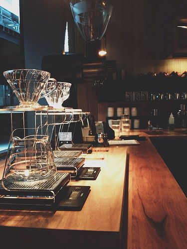 Filter coffee section at Story Coffee and Foodstore - Docklands, Melbourne.