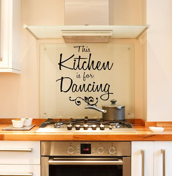 Best Wall Decals Kitchen Images On Pinterest Kitchen Wall - Vinyl decals for kitchen walls