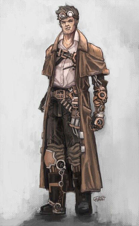 Steampunk male
