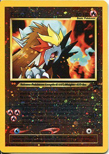 Black Star Trading Card # 34 PROMO Pokemon Entei: Wizards of the Coast Pokemon TCG cartes. PROMO carte de photo et listés. Cet article…
