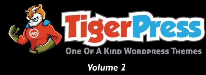 TigerPress Volume 2 WordPress Themes Software by Tony Earp