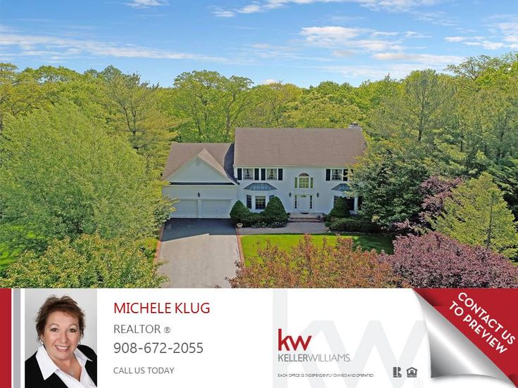 7 McManus Dr, Bridgewater NJ is a colonial style home for $765,000 CONTACT MICHELE KLUG @ 908-672-2055 TODAY MICHELE@MICHELEKLUG.COM TO SCHEDULE A SHOWING OR FOR MORE INFORMATION