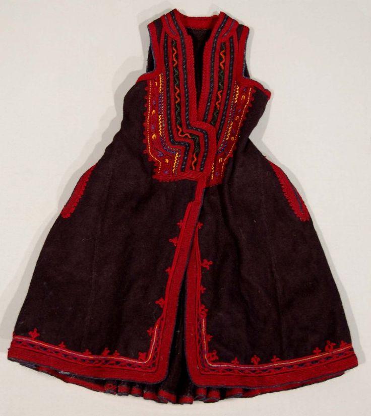 Vlach jacket / waistcoat from Macedonia