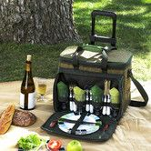 Found it at Wayfair - Eco Picnic Cooler for Four with Wheels