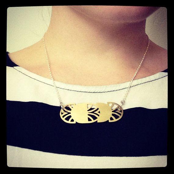 Harlem Swing Necklace by SchwarzieTM on Etsy, $58.00