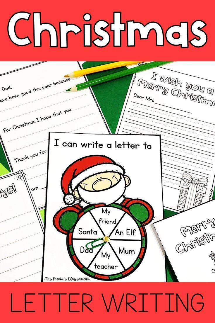 Christmas Letter Writing – Letter Writing Templates – Teaching – Christmas