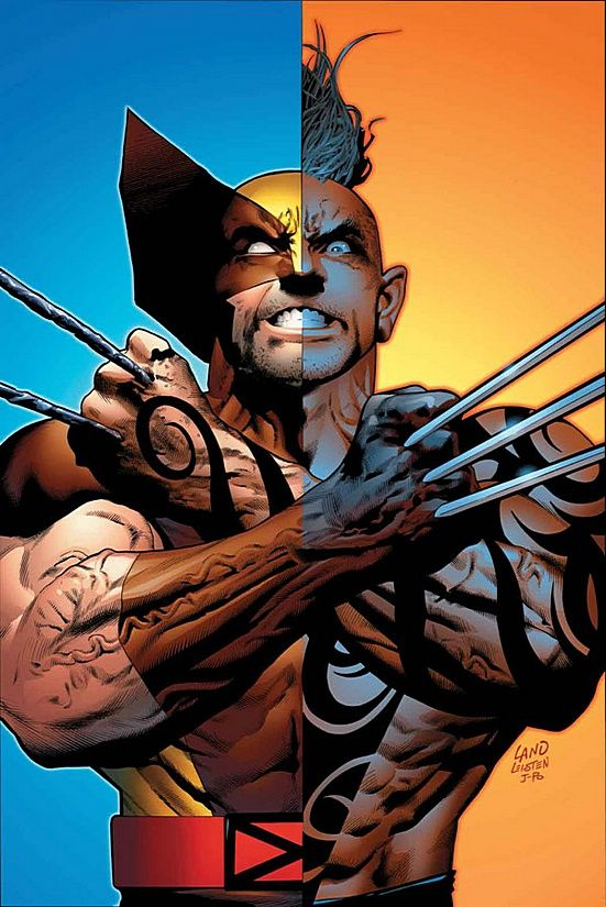For those who don't know - Wolverine has a mutant son ... Wolverine & Daken - From Opposite Sides