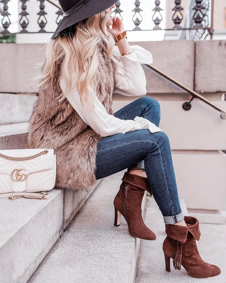 Genius Idea: Booties that can be worn folded over as an ankle boot OR  unfolded
