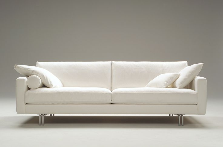 Love my sofa! Blues by Interface.