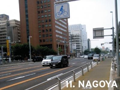 11. Nagoya, Japan (tie)