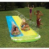 I would love a  Wham-o Slip N Slide Wave Rider Double With 2 Slide Boogies / http://www.zofb.com/wham-o-slip-n-slide-wave-rider-double-with-2-slide-boogies/