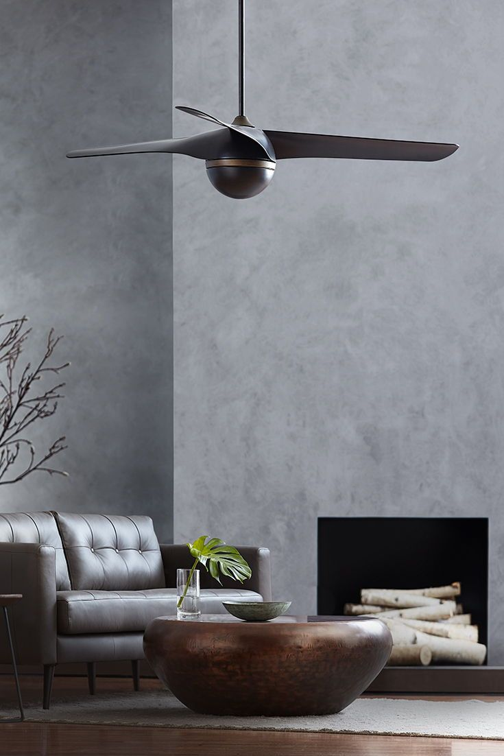 With A Rounded Hub And Three Overlapping Curved Blades The Akova Fan By Monte Carlo Is A Modern Beauty The