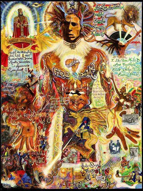 Bob Marley - Artwork by Paul Deo