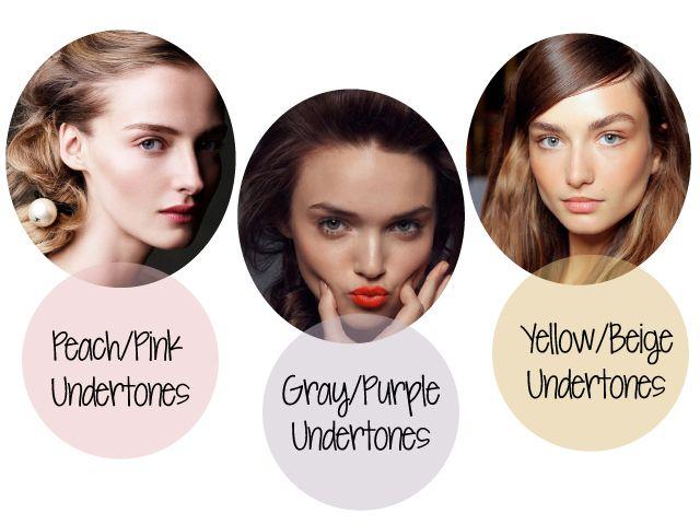 Is Fair Skin White With Yellow Undertones  Dark Brown Hairs