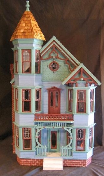 1000 images about doll houses miniatures victorian era for Victorian style kit homes