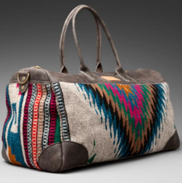 BOLSO DE VIAJEvernight Bag. WANT.