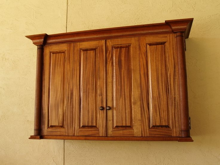 Whether Itu0027s A Patio Cover, Outdoor Kitchen, New Bathroom Remodel Or A New  Kitchen, We Can Do The Job Right!Ribbon Mahogany Cabinet To Cover A Flat  Screen ...
