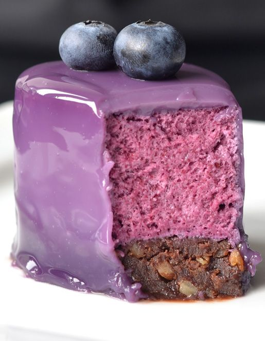 Blueberry Mousse Cake Recipe