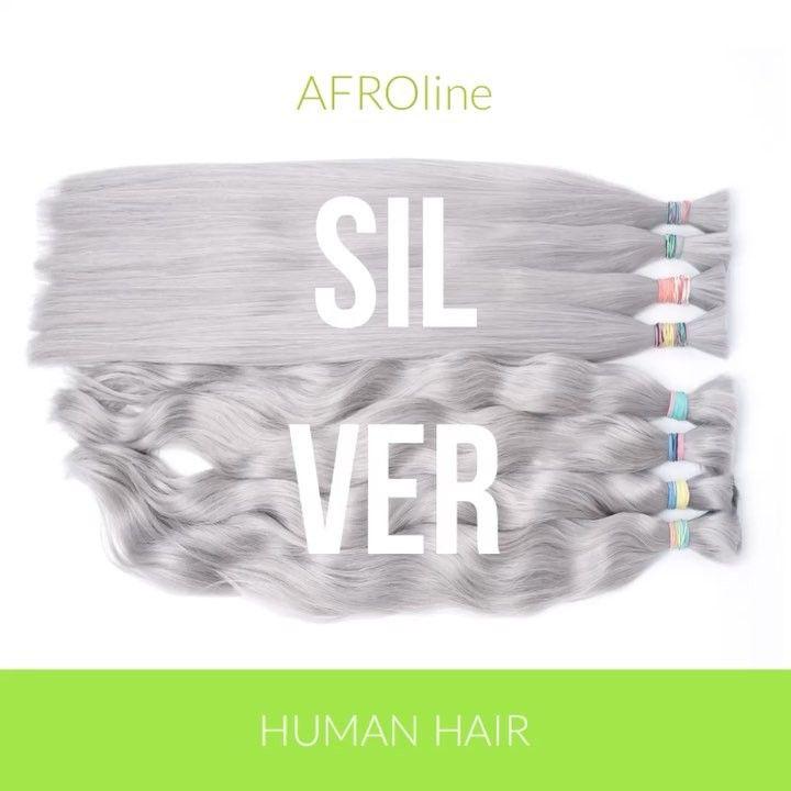 """13 kedvelés, 1 hozzászólás – Afroline Hajkereskedés (@afrolinehair) Instagram-hozzászólása: """"Ezüst póthaj nyers copfban. Új hajszín 60- 65 cm hosszban😊  #póthaj #újhajszín #nagyihaj #hosszúhaj…"""""""
