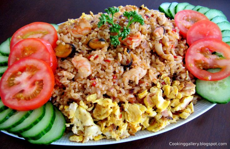 Nasi Goreng. It's good (y)