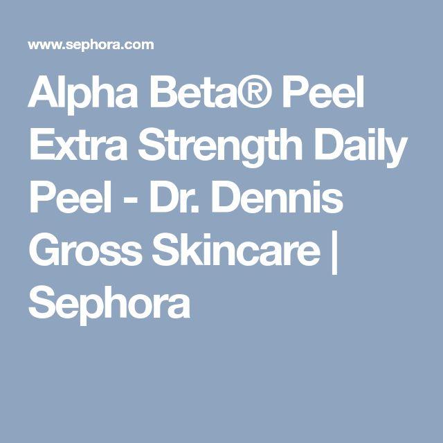 Alpha Beta® Peel Extra Strength Daily Peel - Dr. Dennis Gross Skincare   Sephora