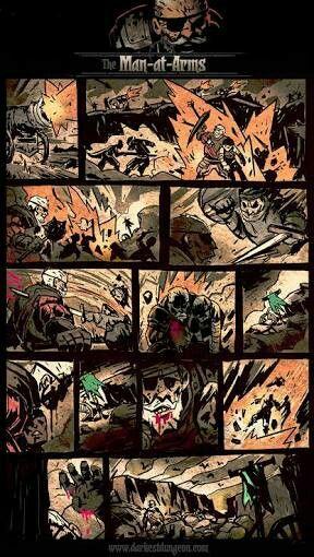 Darkest dungeon comic
