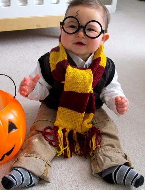 Pequeño Harry Potter   Disfraz casero de niño