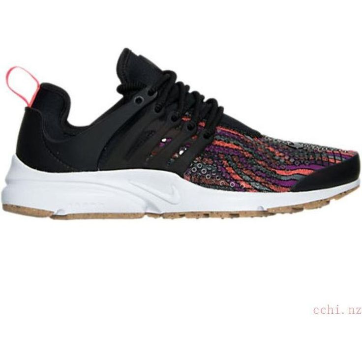Nike Jacquard Presto Sneakers in Hot Lava
