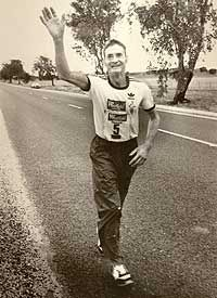 1983: a 61-year-old potato farmer named Cliff Young arrived wearing overalls and gumboots and took a place among a field of 150 elite 20-somethings for the 543-mile run from Sydney to Melbourne. as the race wore on he pulled ahead. His strategy was simple: He didn't sleep. he ran two or three days without rest-carried him easily into first place, beating the record time by nearly two days.At the finish Young said he'd been unaware there was a $10,000 prize; he gave it away to five other…