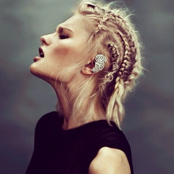 Corn rows and ear cuff www.marketstore.co.nz