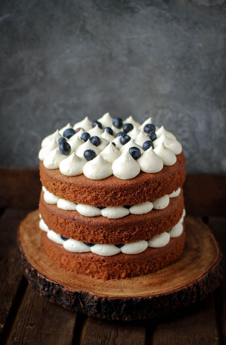 Earl Grey and Blueberry Cake