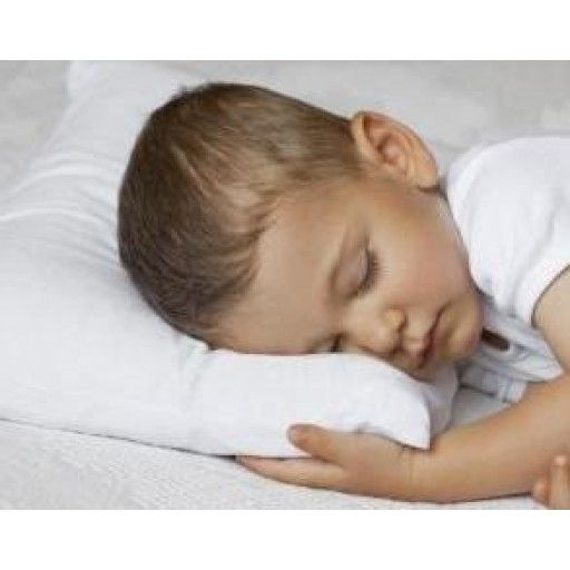 "Set Of 2- Premium Quality- Toddler Pillow- Soft Hypoallergenic 13""X18""- 100% Cotton Cover- For Ages 2+"