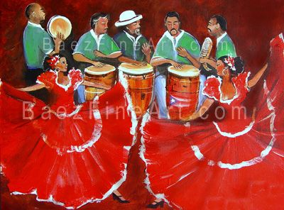 puerto rico arts and paintings | Art - Puerto Rican Art - Puerto Rican Artist Elizabeth Erazo Baez -
