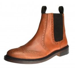 Bench Grade Ludlow Tan Brown Slip On  Chelsea, Ankle Boots Pull Welted Delaer Mens - £69.99