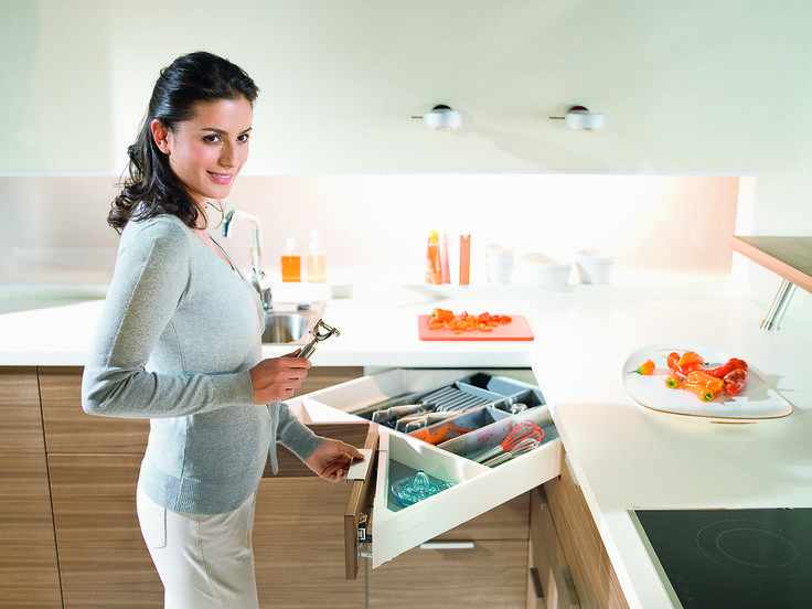Antaro #kitchen Corner draw space