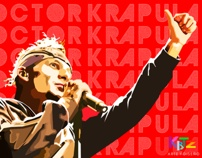 Doctor Krapula by Kibutz Arte y Diseño, via Behance