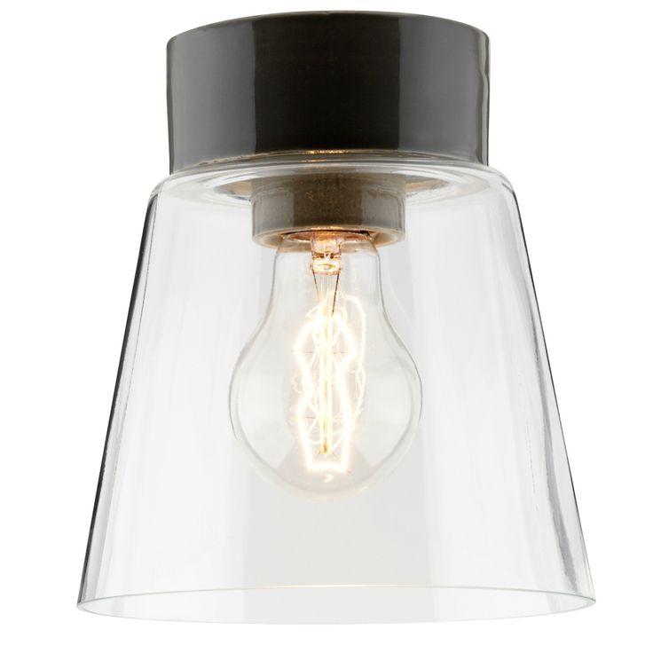 Plafonnier scandinave au design classique en verre et...