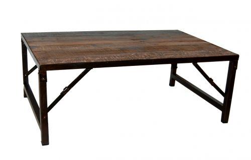 Soffbord - vintage trä och järn i gruppen Vintage / Bord hos Reforma Sthlm  (SG04014)