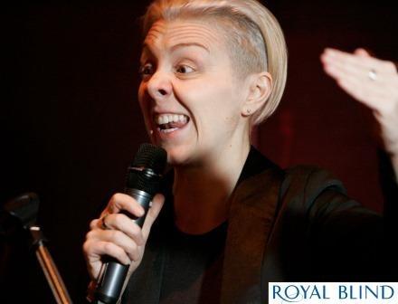 Karen Dunbar host of Rabbie's Girls 2013