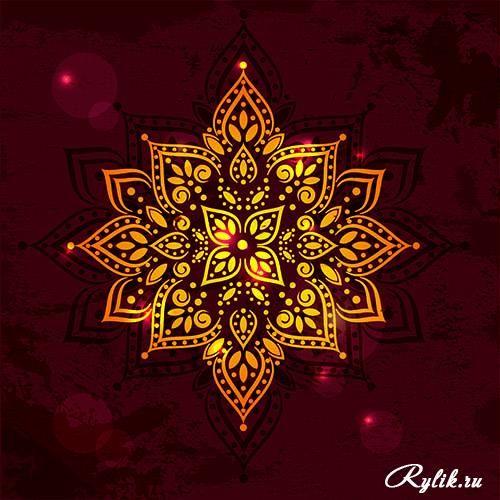 Арабские орнаменты и узоры - векторные фоны. Arabic Design