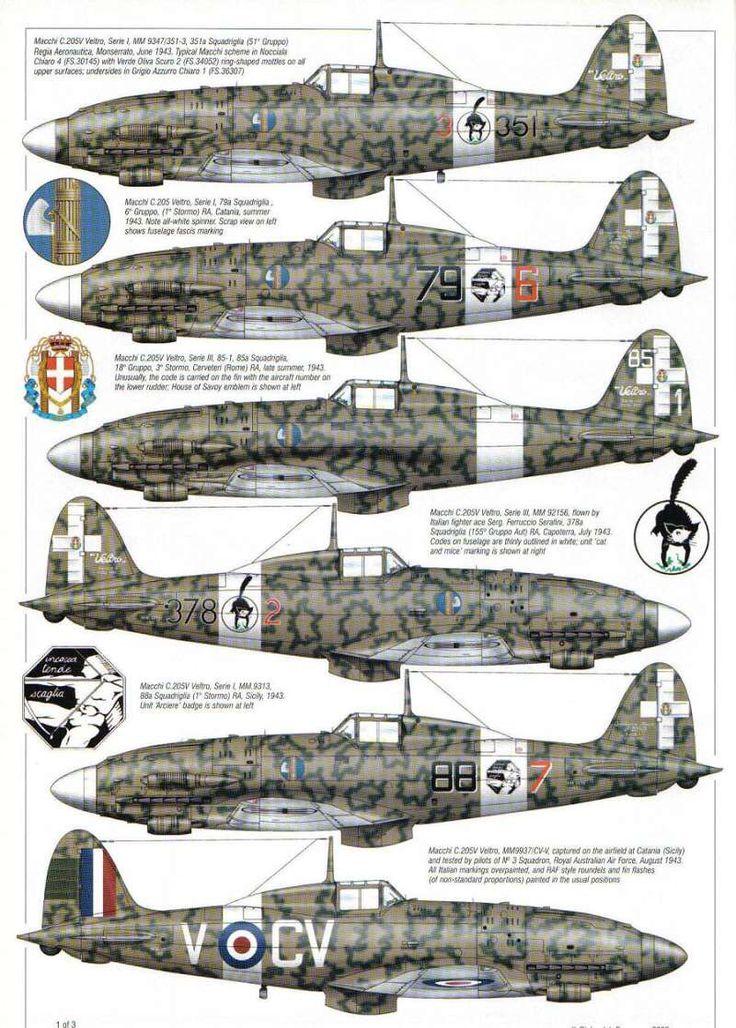 Macchi M.C. 205 Folgore (Arrow)